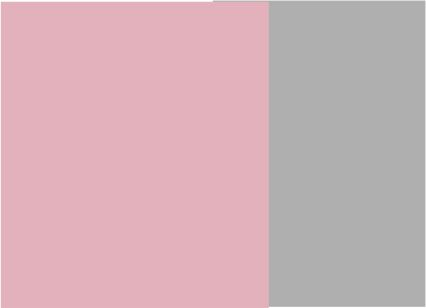 Rosa con gris
